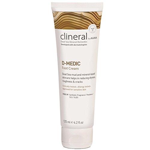 Ahava clineral diabético propensos Skin crema de pie Reducir sequedad y grietas (125ml)