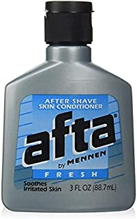 Afta by Mennen After Shave Skin Conditioner, Fresh 3 oz (88.7 ml) Pack of 3