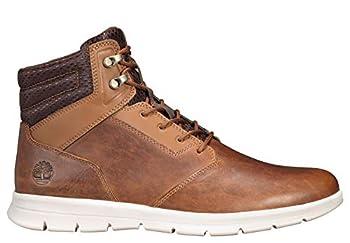 Timberland Men s Graydon Sneaker Boot Wheat Full-grain 10