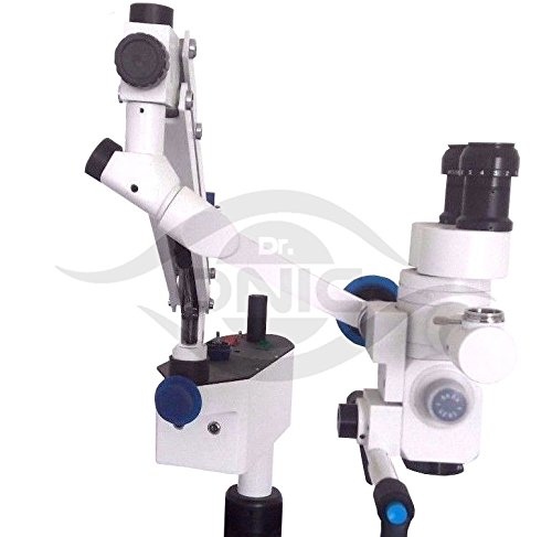Wall Mount Ent Operating Microscope 3 Step,90° Fixed Binoculars with Advanced LED Illumination ISO CE Dr.Onic