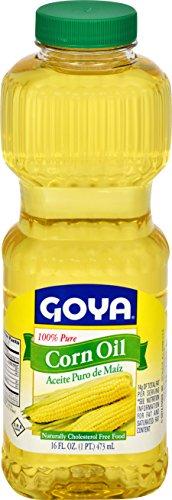 Goya Pure Corn Oil, 16 Ounce