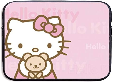 CHLING Hello Kitty with Bear Neoprene Laptop Sleeve Case Bag Cover Compatible 13 15 Inch Surface product image