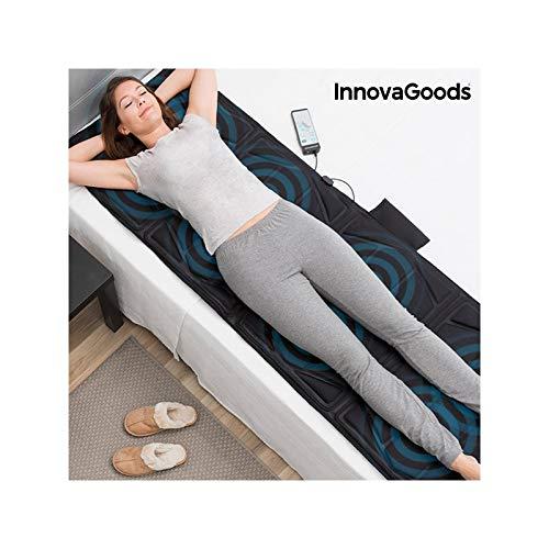 InnovaGoods Relax Cloud Massagematte, 14 W, Schwarz