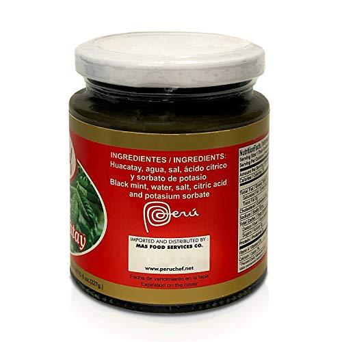 PeruChef Pasta de Huacatay   Black Mint Paste 8oz