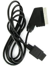 Consola de cable SCART RGB Audio Video Nintendo Gamecube, N64 y SNES