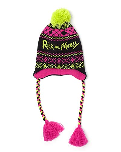 Difuzed Rick & Morty Ski Beanie Acid Laplander Caps tzen
