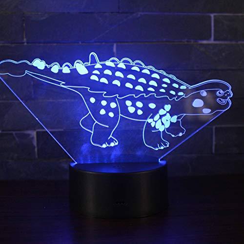 Dinosaurus spel 3D LED nachtlampje beste cadeau voor kinderen kind slaapkamer decoratieve sfeer nachtlampje lamp