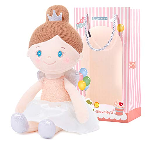 Best Review Of Gloveleya Baby Doll Plush Soft Girl Gifts Angel Dolls Dream Girls Pink 15 Inches