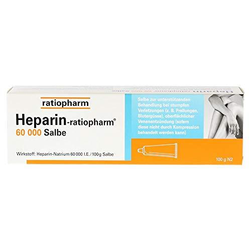 Heparin-ratiopharm 60 000 Salbe, 100 g