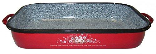 Best Unisex's Oven Roaster met Handvat Rood, 26 cm
