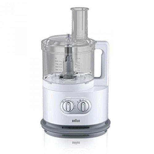 Braun FP 5150 Identity Collection Compacte keukenmachine, 1000 Watt wit