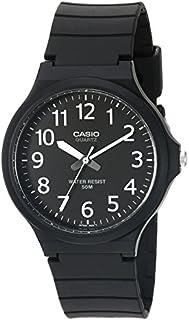 Casio Men's 'Easy To Read' Quartz Black Casual Watch...