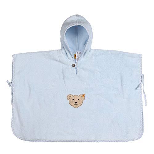 Steiff Baby Badeponcho hellblau (299) 000