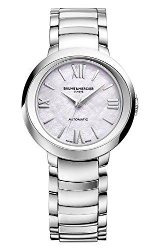 Baume and Mercier Promesse MOA10182 - Reloj automático para mujer