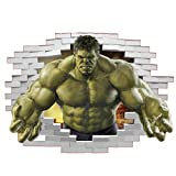 Incredible Hulk Wandaufkleber Superhelden Comic Avengers
