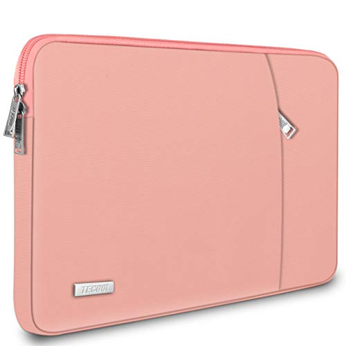 TECOOL 14 Zoll Laptop Hülle Tasche Schutzhülle Sleeve für HP Stream 14 EliteBook 840, Lenovo IdeaPad S130 ThinkPad E480 T480s, Acer Aspire Chromebook 14, Dell Inspiron 14, Rosa