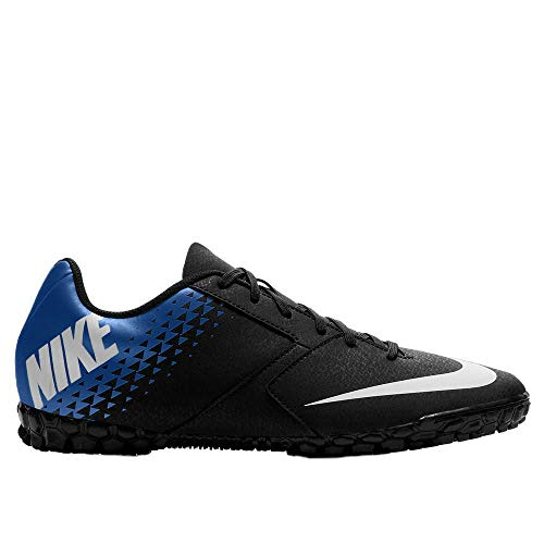 Nike Jr Bomba TF, Zapatillas de fútbol Sala Unisex niño, Multicolor (Obsidian/White-Racer Blue 414), 28.5 EU