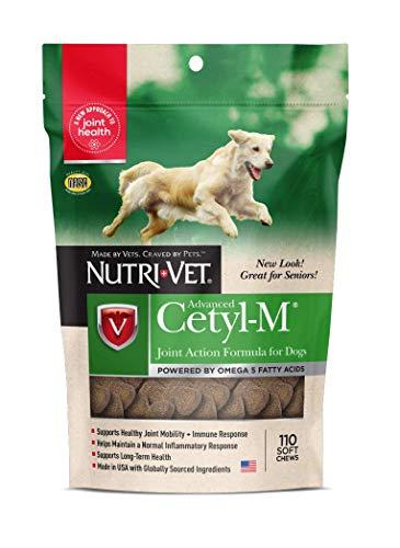 Nutri-Vet Cetyl-M Advanced Joint Action Formula Soft Chews 110 ct