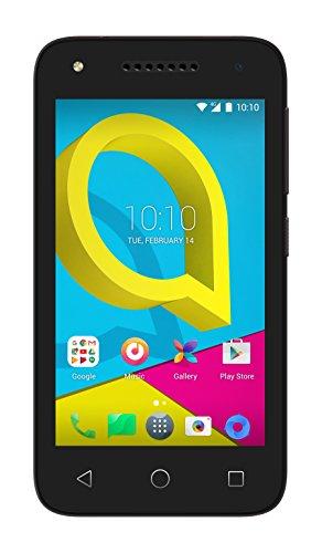 Alcatel U3 3G Negro - Smartphone (10,2 cm (4 ), 0,512 GB, 2 MP, Android, 6.0, Negro)