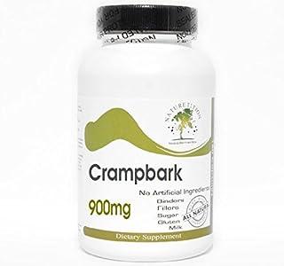 Crampbark Cramp Bark 900mg ~ 180 Capsules - No Additives ~ Naturetition Supplements