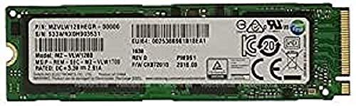 Samsung pm961 auf M.2 PCIe Gen3 x4, NVME Solid State-Laufwerk (SSD), Original (2280), 128 GB