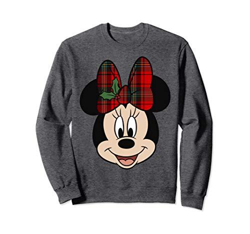 Disney Minnie Mouse Christmas Bow Sweatshirt