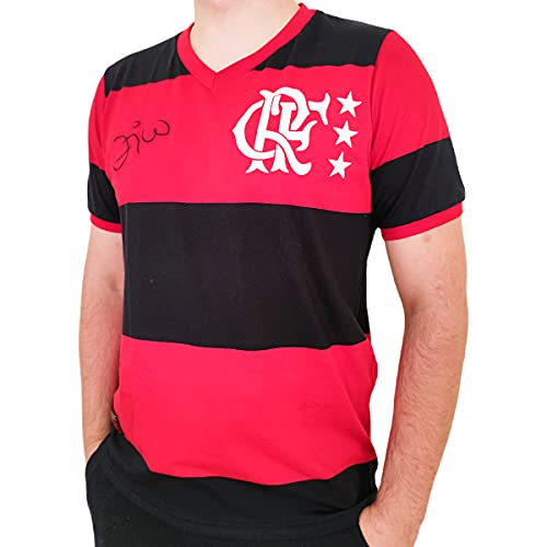 Camisa Flamengo Braziline Libertadores 81 Zico Masculino