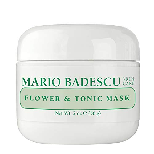 Mario Badescu Flower & Tonic Mask - For Combination/ Oily/ Sensitive Skin Types 59ml