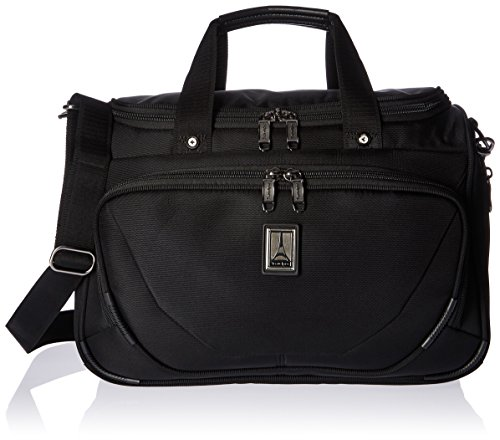 Travelpro Crew 11-Deluxe Tote Carry-On Bag, Black, 15-Inch