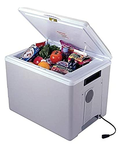Koolatron Kool Kaddy P75 AZ Thermoelectric Iceless 12V Cooler Warmer, 34L / 36 Quart Capacity, For Camping, Travel, Truck, SUV, Car, Boat, RV, Trailer, Tailgating, Made in North America