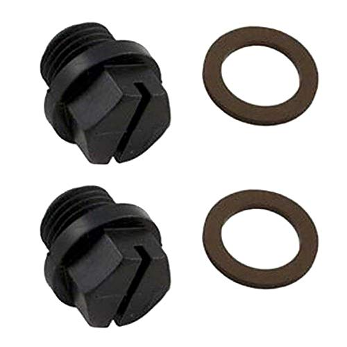 Hayward SPX1700FG Max-Flo Power-Flo Pump Pipe Plug Replacement w/Gasket (2 Pack)