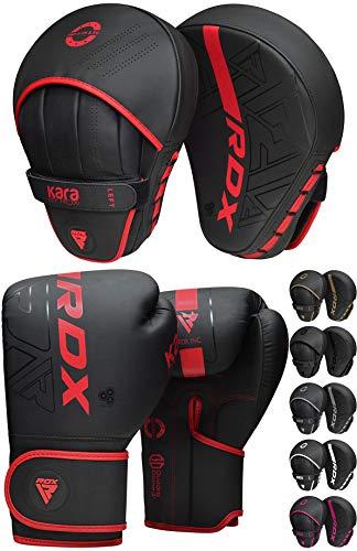 RDX Manoplas de Boxeo y Guantes Niño Entrenamiento Muay Thai Paos Saco...