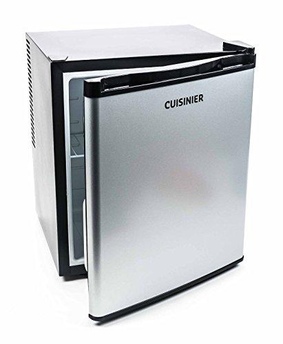 Cuisinier Deluxe Mini Kühlschrank 38 Liter, freistehend, thermoelektrisch, geräuscharm, Höhe ca. 50 cm