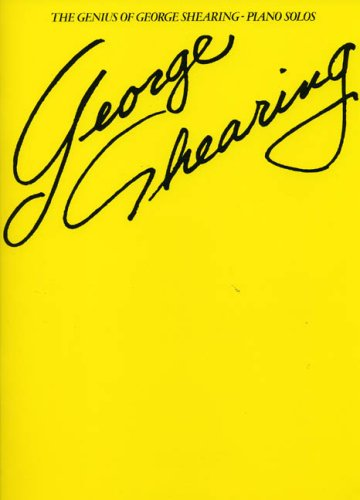 The Genius Of George Shearing Piano Solos