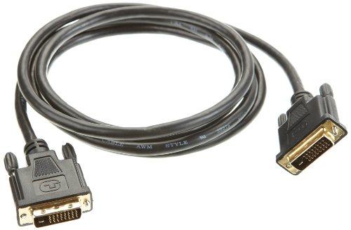 Jou Jye Computer JOUJYE DVI-D Kabel/DVI-D zu DVI-D 2m Stecker 24 +1 vergoldet hochdichte 3-Fach Abschirmung HDCP Konform