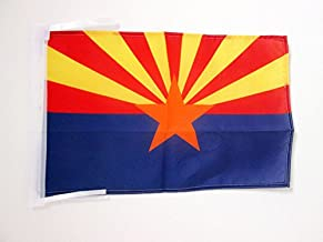 AZ FLAG Arizona Flag 18'' x 12'' Cords - US State of Arizona Small Flags 30 x 45cm - Banner 18x12 in
