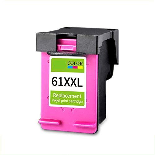 TEZAI Gran Capacidad Adecuada para el Cartucho de Tinta HP61XL HP1000 HP1050 1010 2620 4630 1511 1011 1510 2620 Envy4500 2540 2510 3510 Impresora Cartucho de Tinta Red