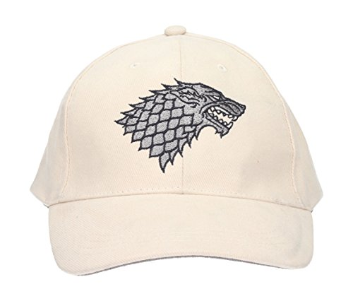 SD Toys Stark Game of Thrones Gorra de béisbol, Beige, U Unisex Adulto