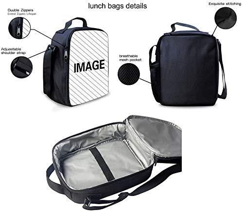 41lLs5+oUdL - The Si-mps-ons - Juego de mochila escolar con bolsas de almuerzo y estuche ligero para viaje para niños y niñas