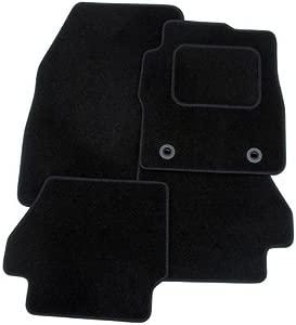 Rmsone GENUINE FULLY TAILORED BLACK CARPET CAR MATS CLASS 2012   BLACK TRIM