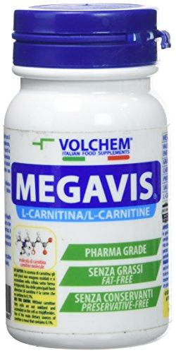 Volchem Megavis / Integratore L- Carnitina / 60 Compresse