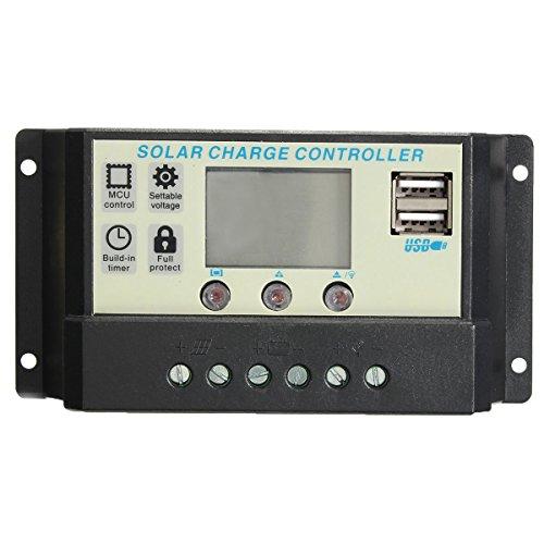 Masunn 10/20 A 12/24 V zelf-zonnecollector-batterij-regelaar-regelaar-regelaar-regelaar-regelaar-regelaar-regelaar Pwm batterij-opladen