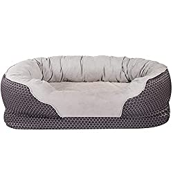 small AsFrost dog beds, orthopedic dog beds with removable washable covers, memory foam dog beds …