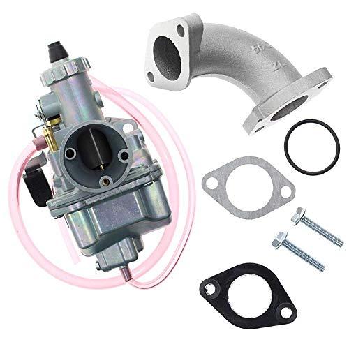 ZQALOVE ZHANGQINGAN Nueva VM22 26mm carburador Mikuni Fit Kit for la Ingesta de tuberías Pit Bici de la Suciedad 110cc 125cc Herramientas