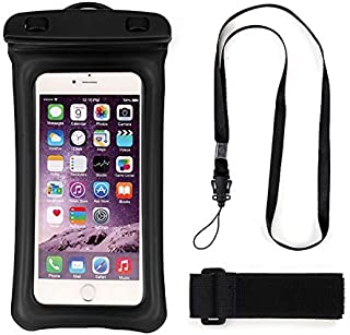 UNIVERSAL WATERPROOF PHONE CASE WITH ARMBAND AND NICK STRAP FOR ALL SMART PHONES