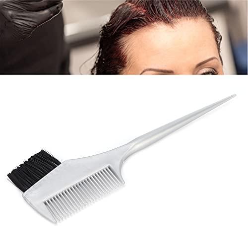 Haarkleur Borstel, Bleach Kleurstof Borstel Haarverf Kleur Borstel Haarverf Borstel Multifunctionele Brede Kam Tanden voor Salon voor Thuis(Gray black)
