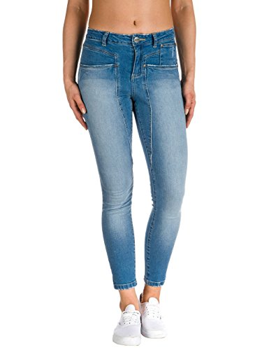 Nikita Damen New Crush Jeans, Daybreak, 32/34 EU