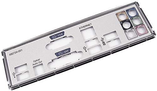 HP IO SHIELD für Jasmin MB 696333–001682724–001Motherboard Halterung Rev. A
