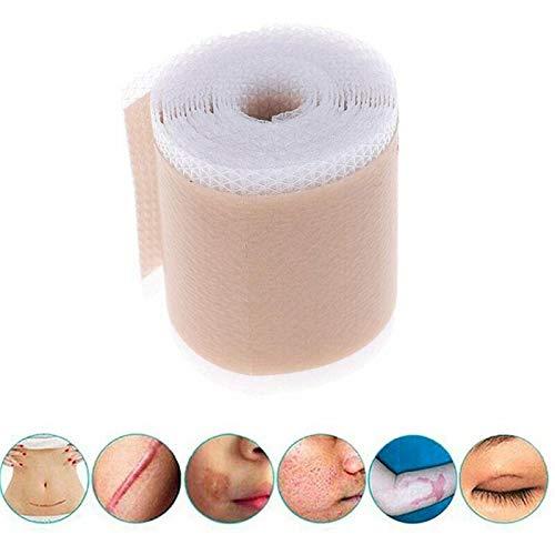 HHYSPA Medical Soft Silicone Gel Tape Eficiente cosmético eliminación de Cicatrices Gel de Silicona Altamente Cómodo contra Dolor para la eliminación de Cicatrices 4 * 150cm