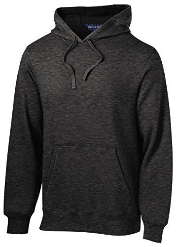 Sport-Tek Tall Pullover Hooded Sweatshirt>XLT Graphite Heather TST254 by Sport-Tek